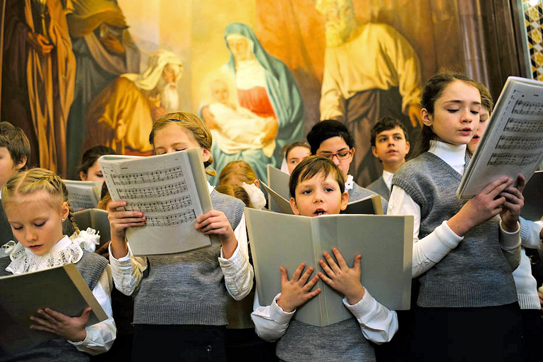 00 kid's choir moscow russia 300316