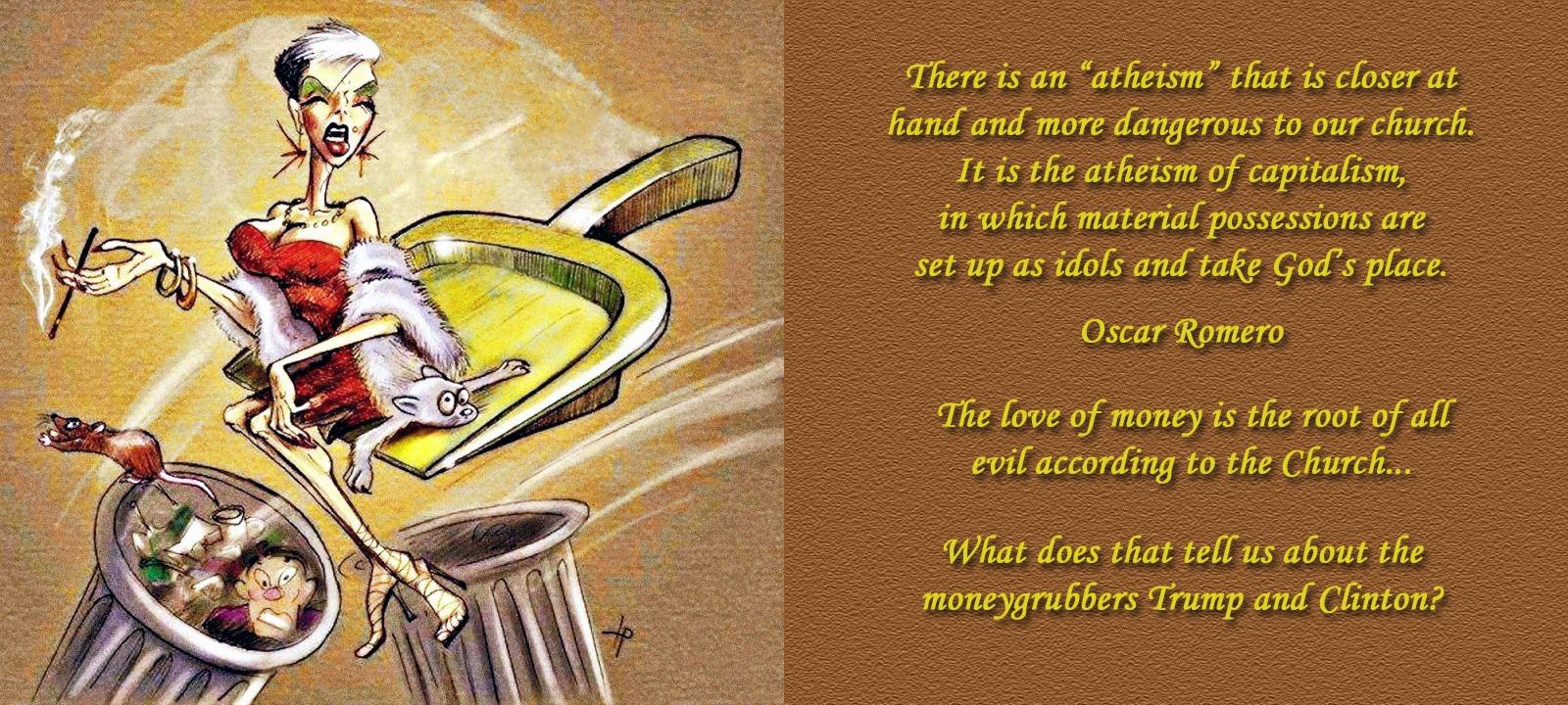 00 OSCAR ROMERO captialist atheism 070316
