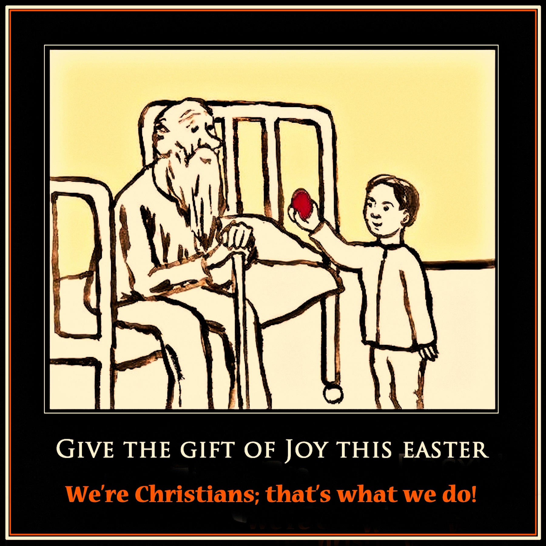 00 give the gift of joy this easter! 140416