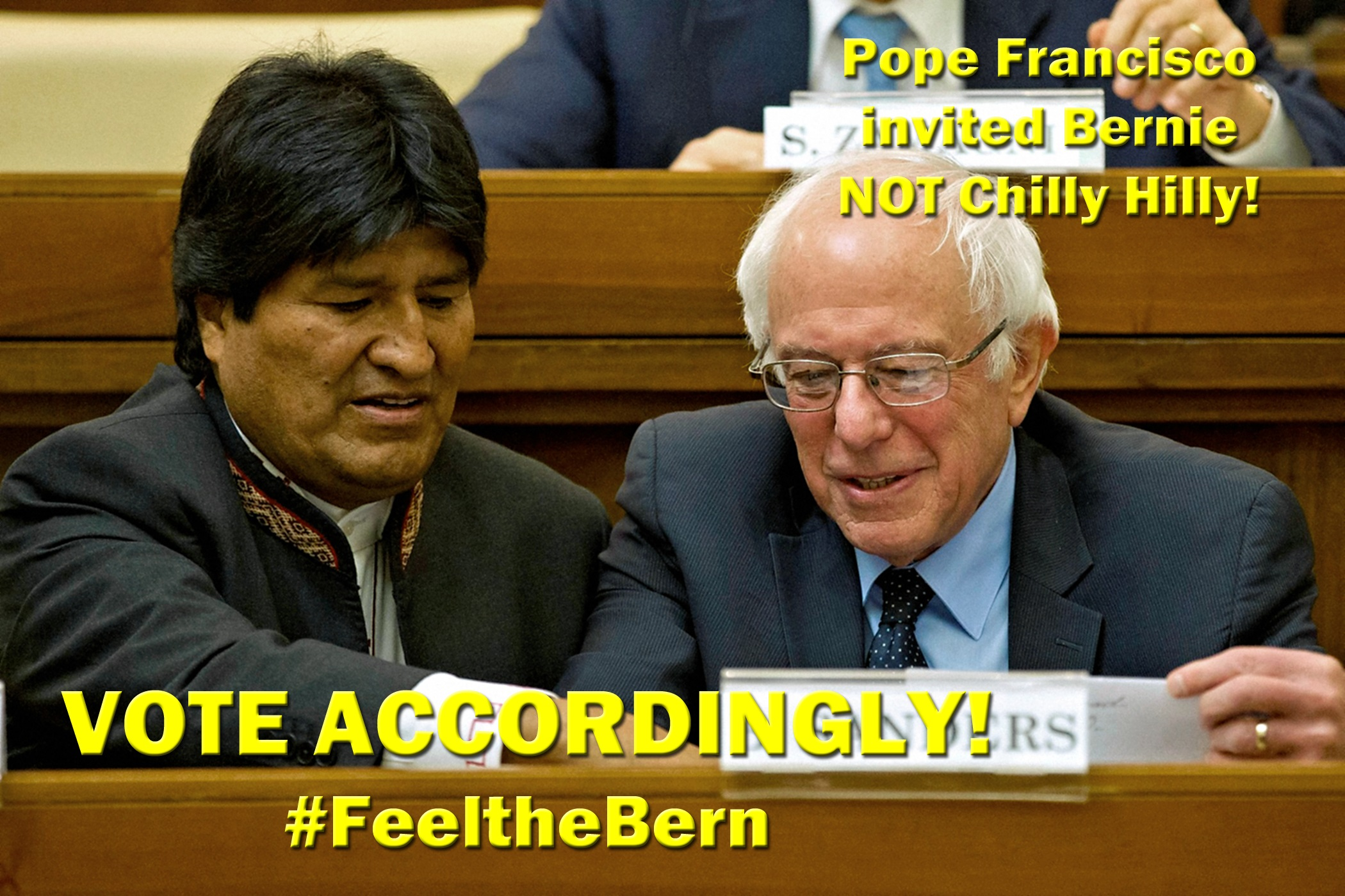 00 pope and bernie and morales 150416