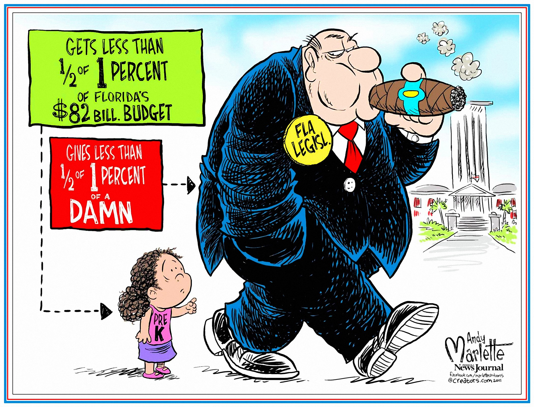 00 Andy Marlette. Florida Pre-K Funding. 2016