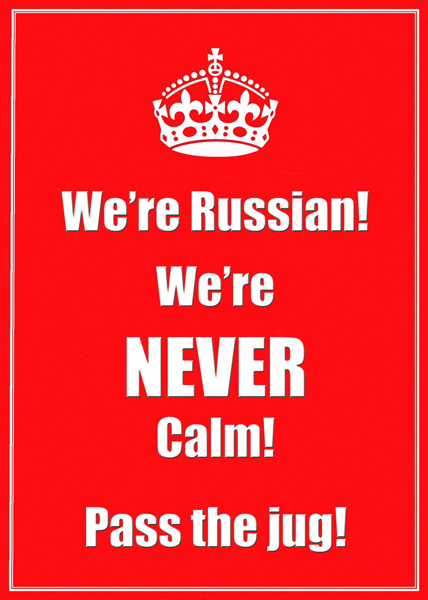 00 I'm Russian. 030516