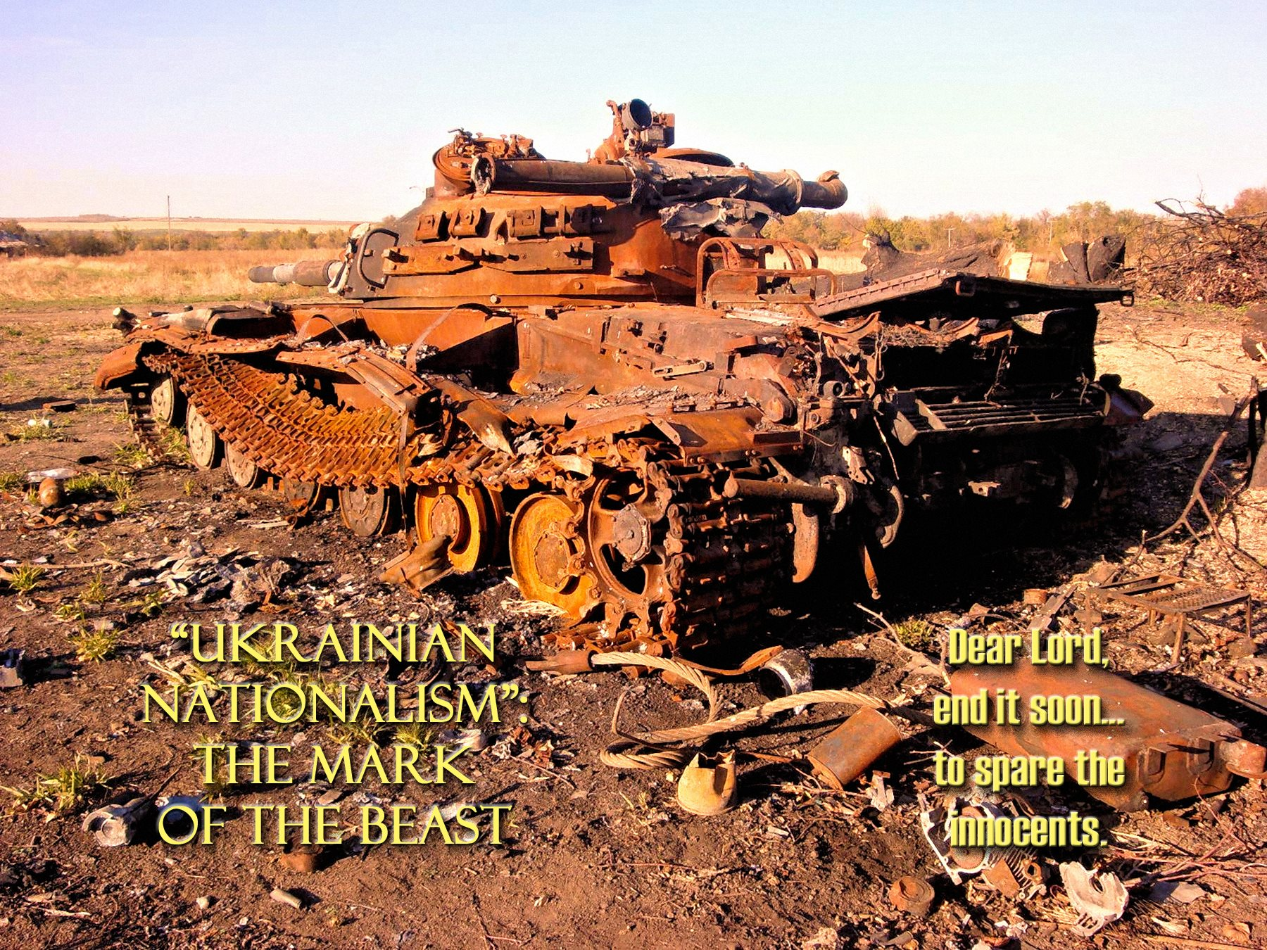 00 tank ukraine. the mark of the beast 210516