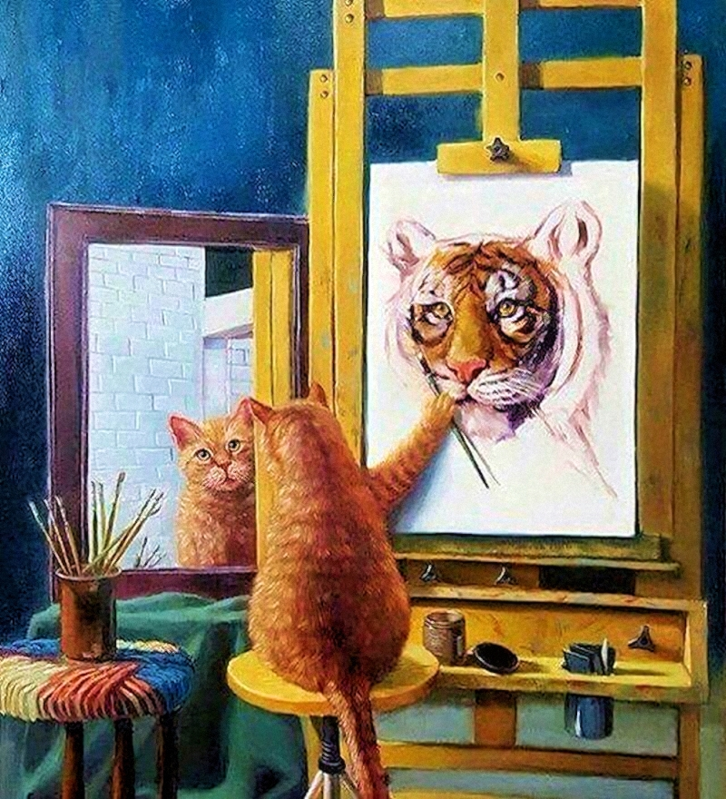 00 Self-Portrait... Most Important... Believe in Yourself!