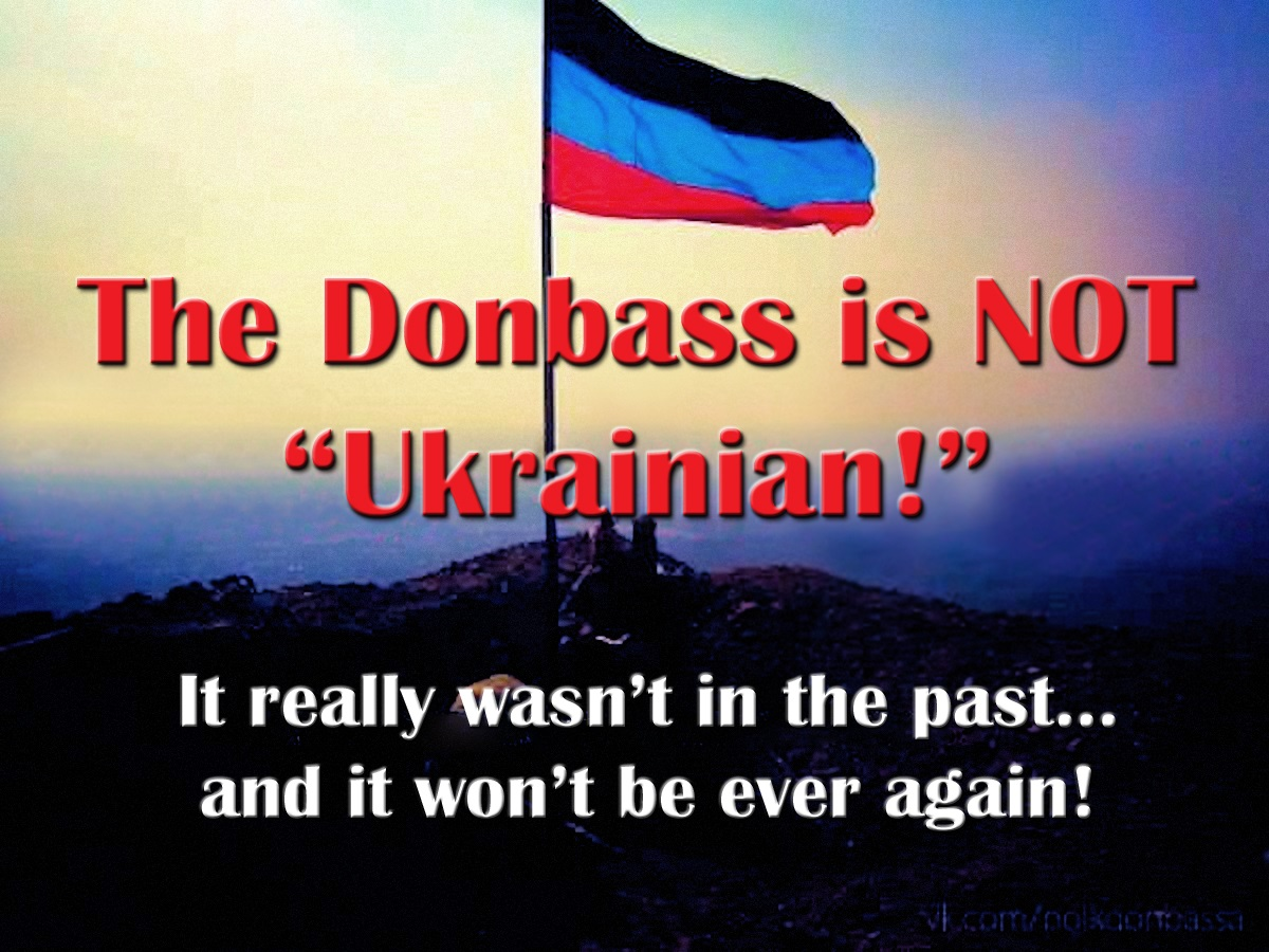 00 The Donbass is NOT Ukrainian 280616 01