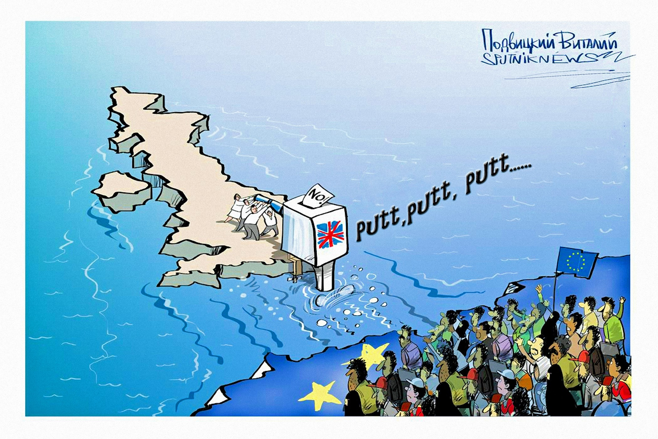 00 Vitaly Podvitsky. The Brexit Shock. 2016