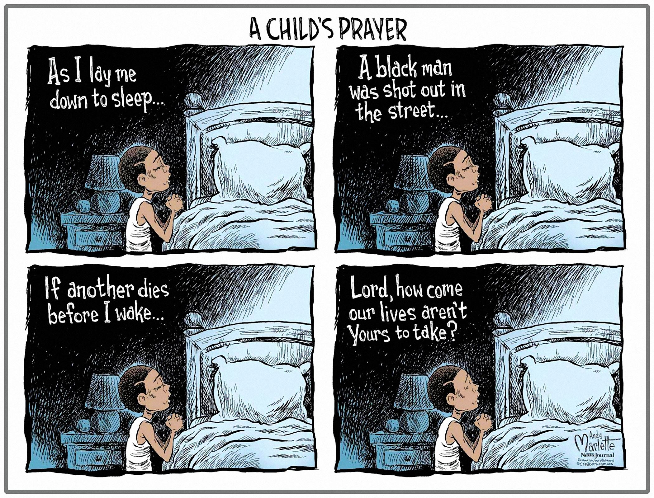 00 Andy Marlette. A Child's Prayer. 2016
