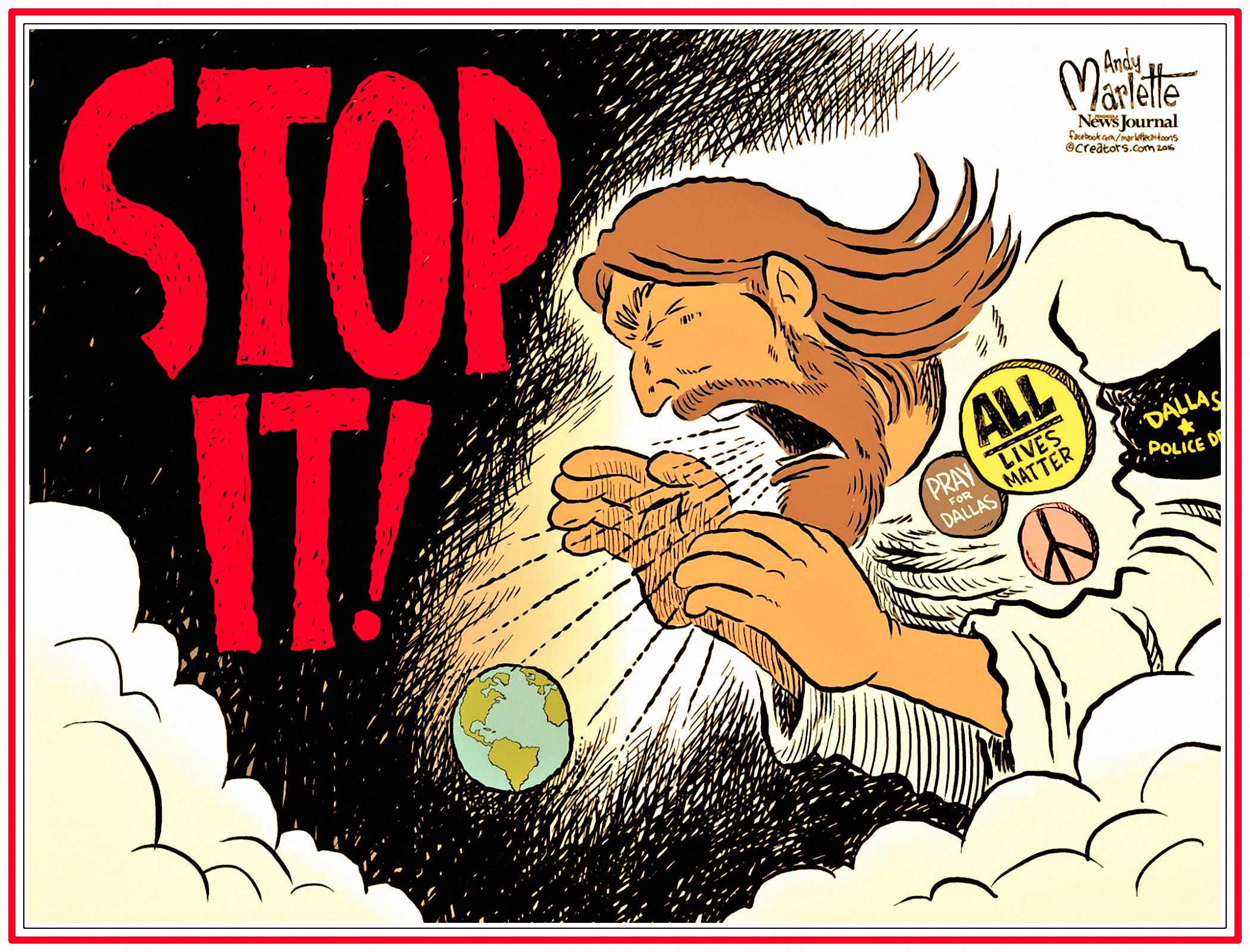 00 Andy Marlette. And Jesus Said Unto Them. 2016