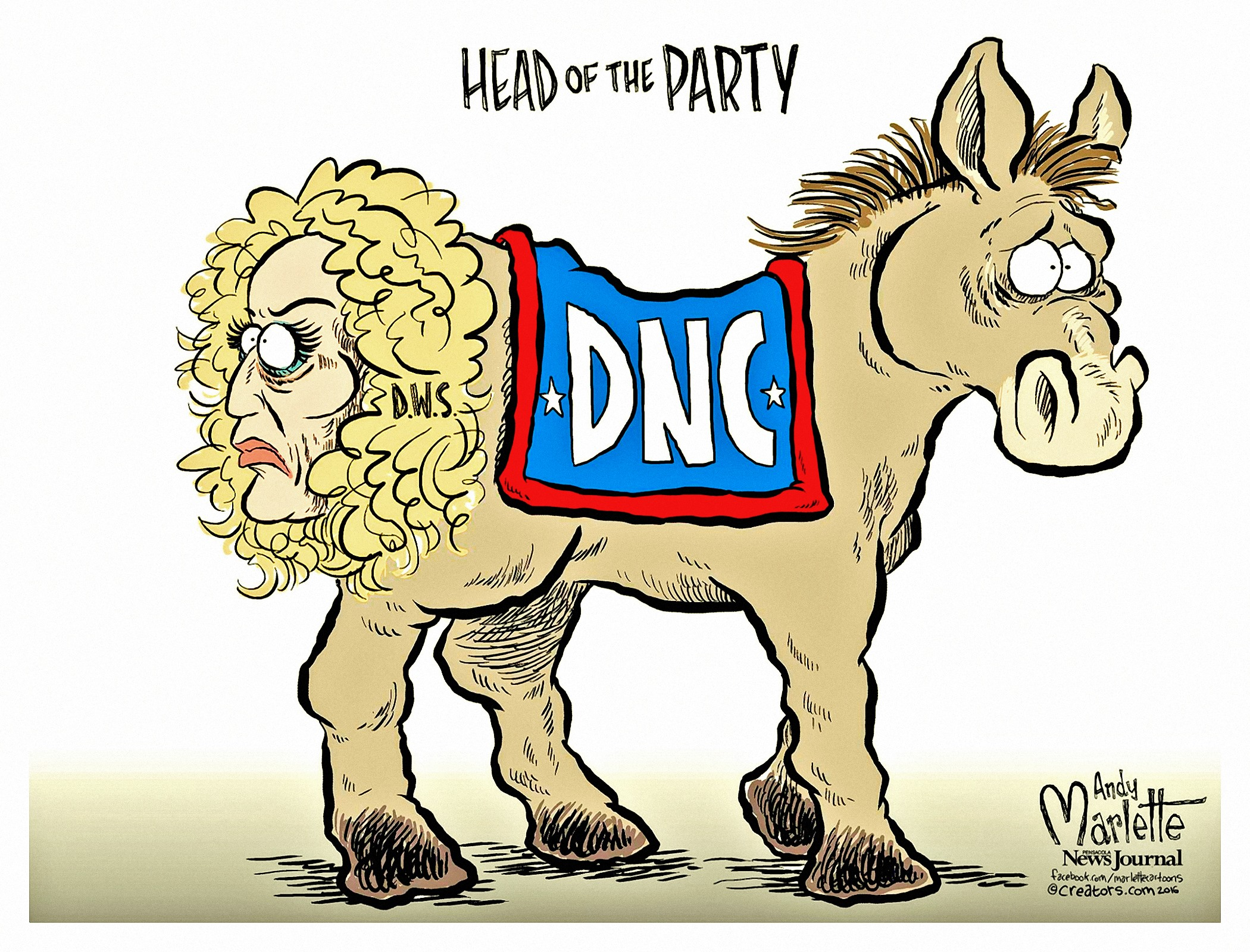 00 Andy Marlette. Head of the Party. 2016