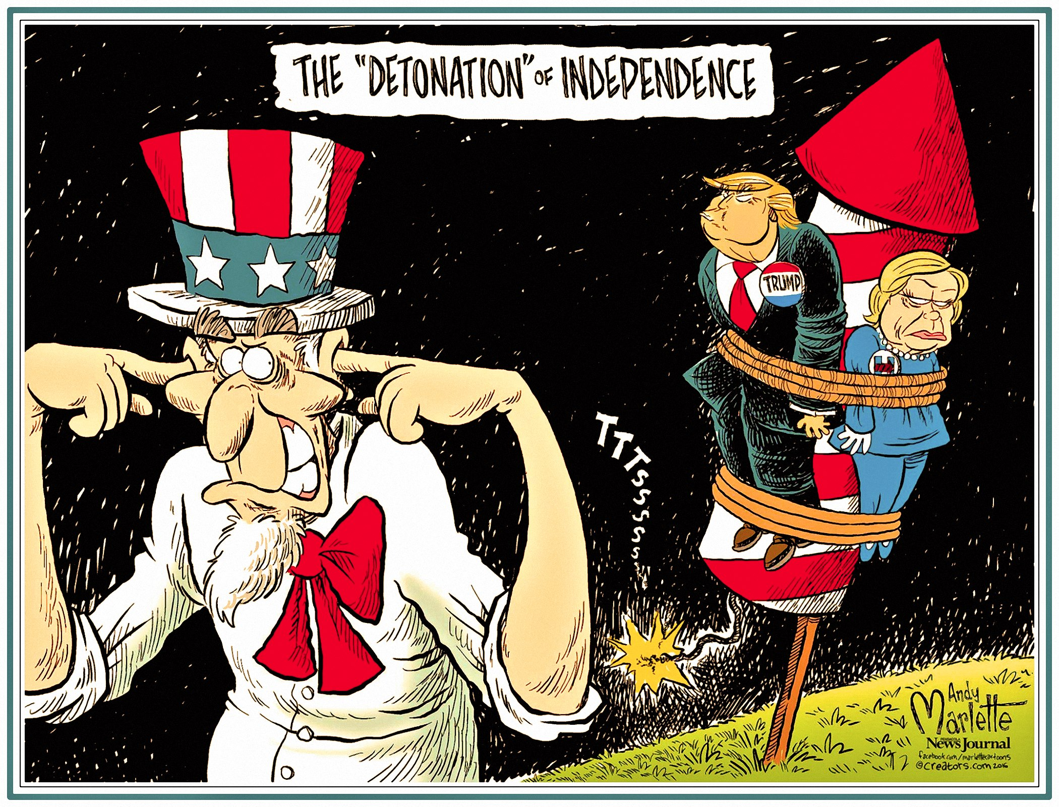 00 Andy Marlette. Independence Day. 2016