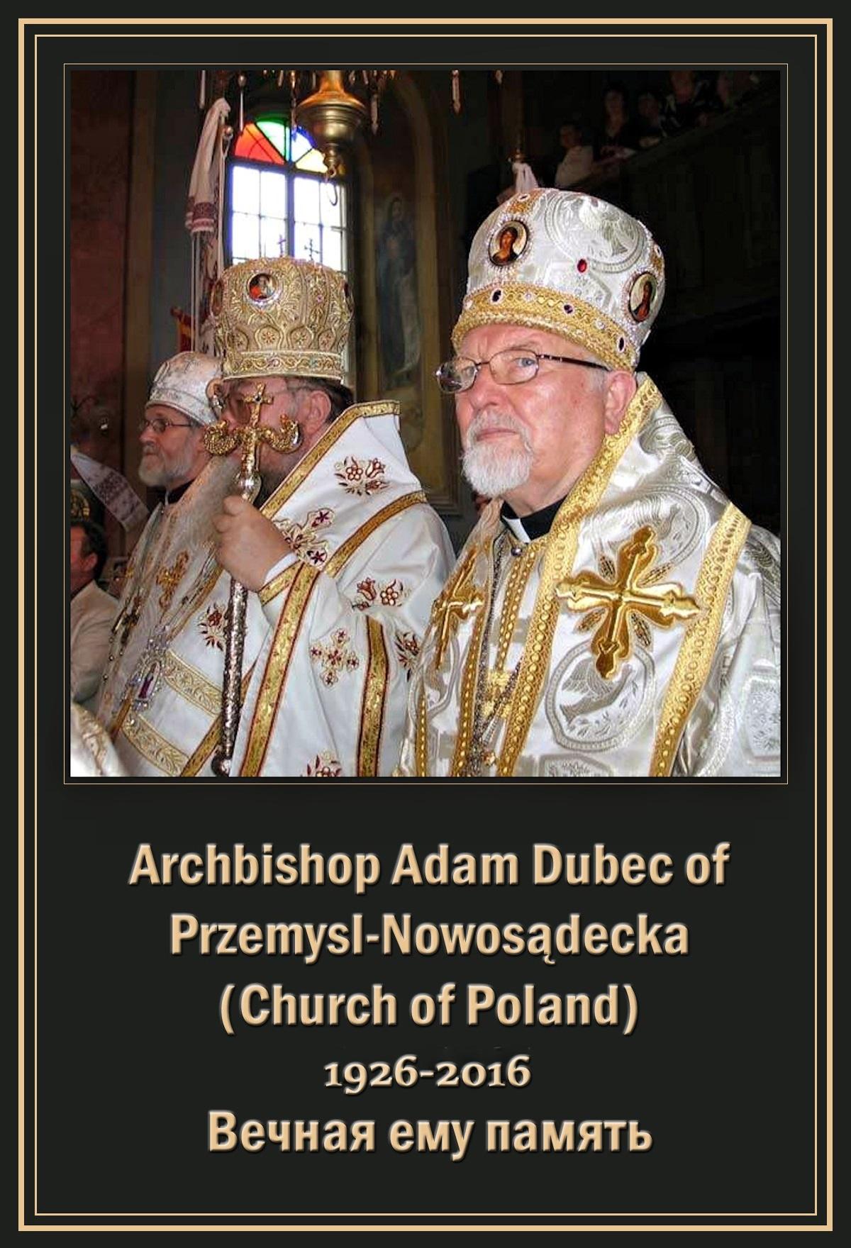 00 archbishop adam dubec polish 260716