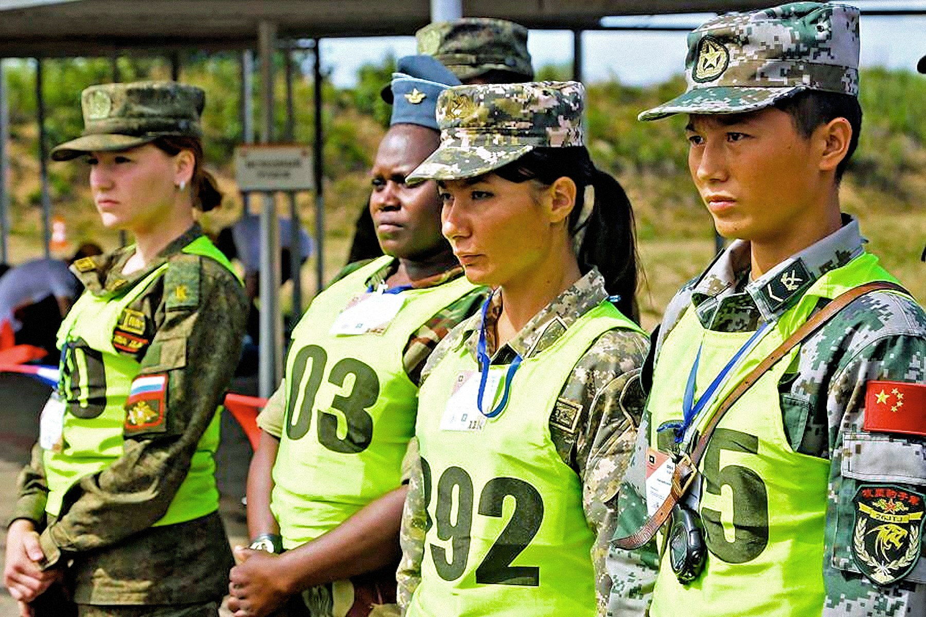 00 female soldiers china russia kazakhstan zimbabwe 050816
