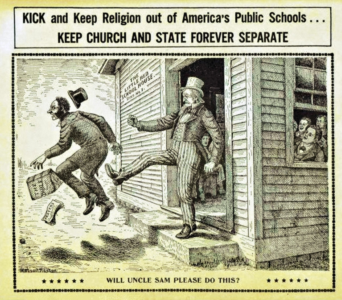 the controversial issue of separating church and schools in the united states The boisi center papers on religion in the united states separation of church and state  united states, even as the christian traditions to  on the legal issues .