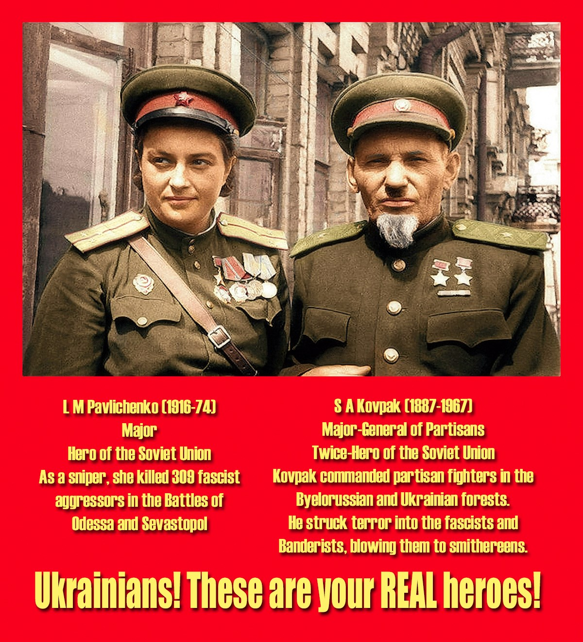 The real heroes of Russia 30