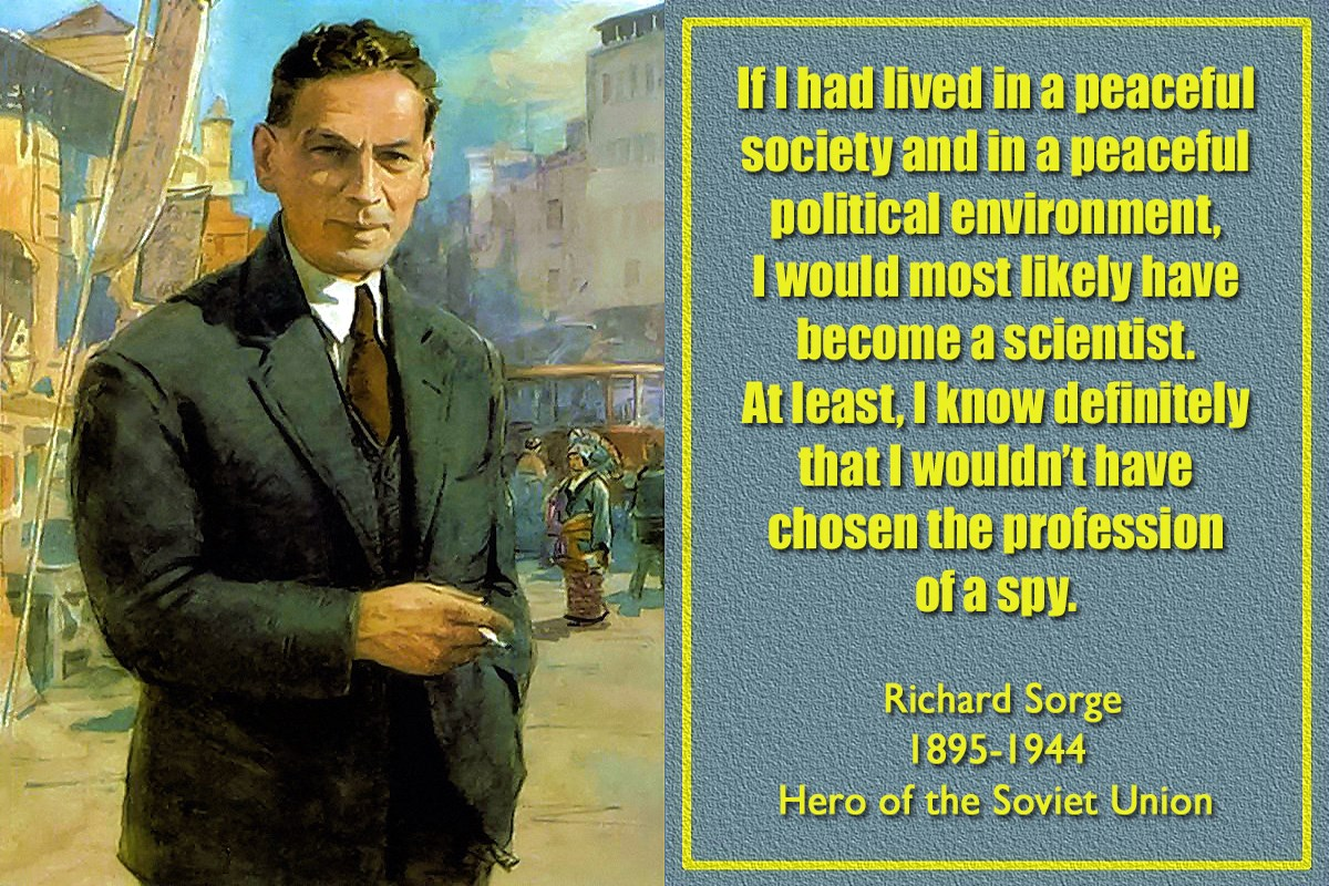 Who was Richard Sorge Photo and biography of the Soviet intelligence officer 32