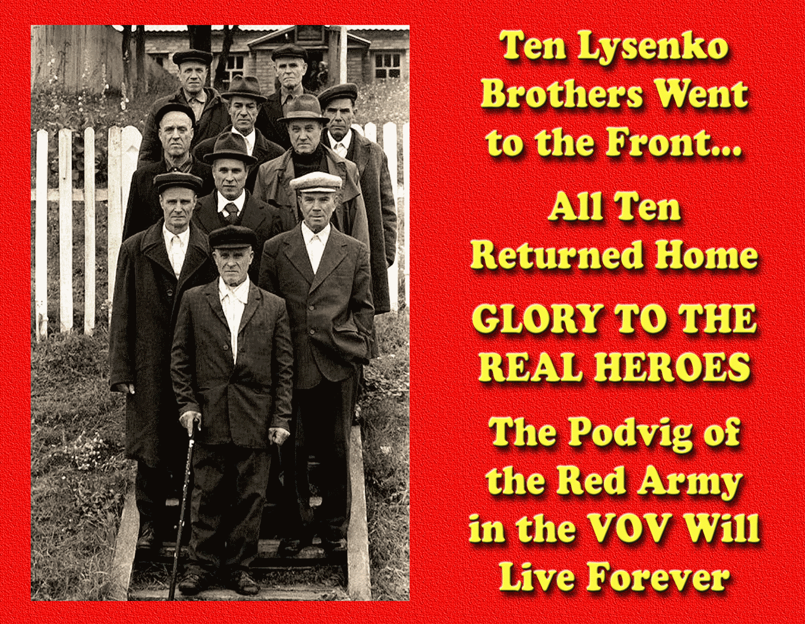 The real heroes of Russia 58